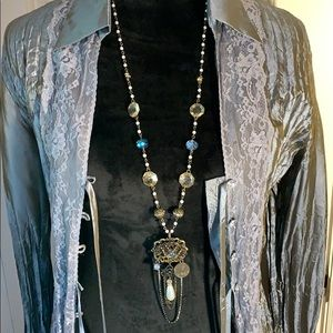 Vintage style Necklace by  Venusian Concepts